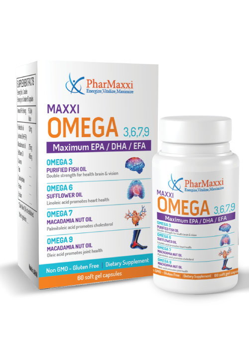 Omega 3 6 7 9 Pharmaxxi Vitamins Dietary Supplements Health